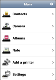 ePrint makes you print from your iPhone!!